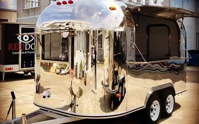The Retro Airstream-Style Catering Trailer
